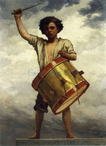 The-Drummer-Boy-artist-William-Morris-Hunt